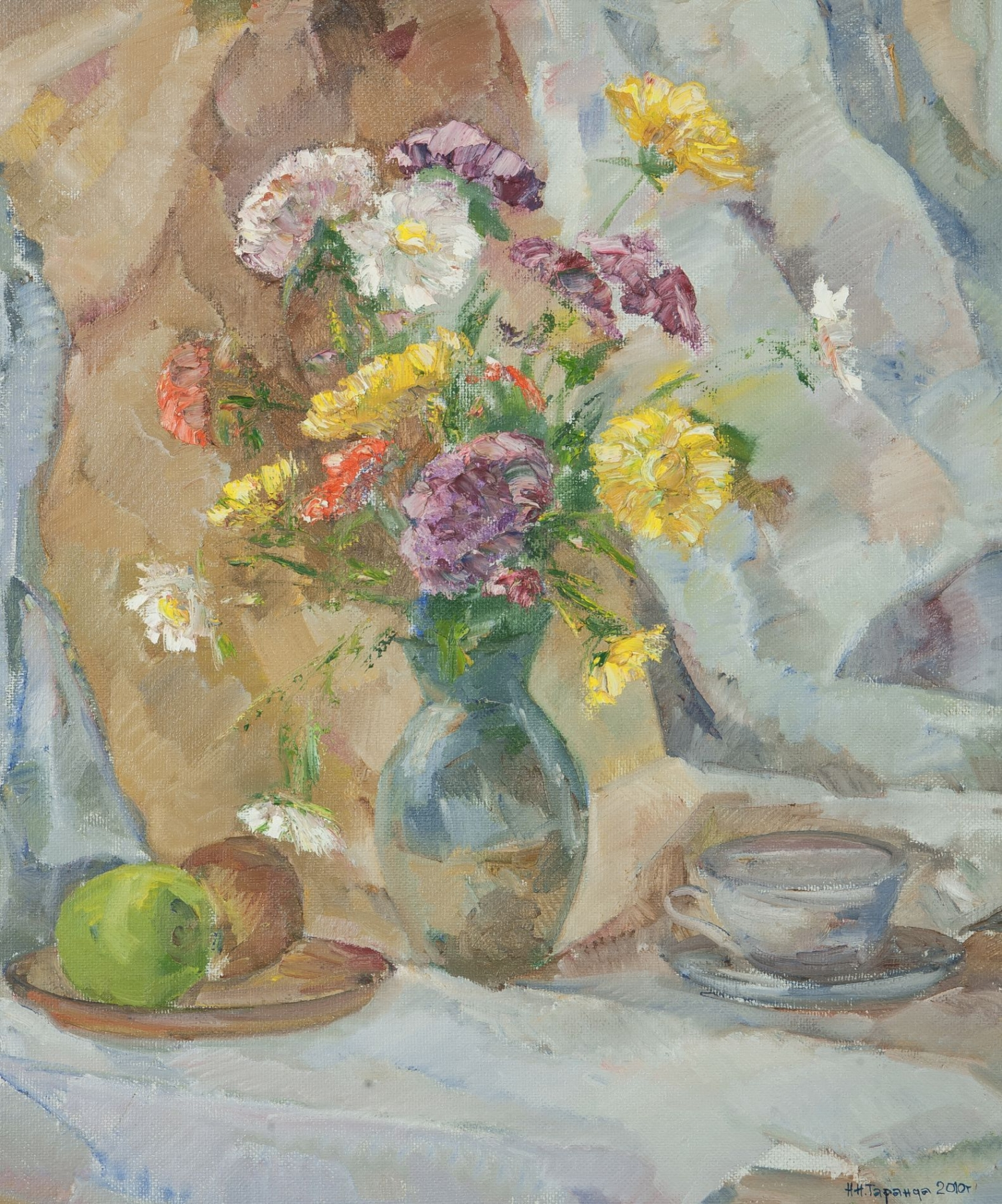 Asters and Apples
