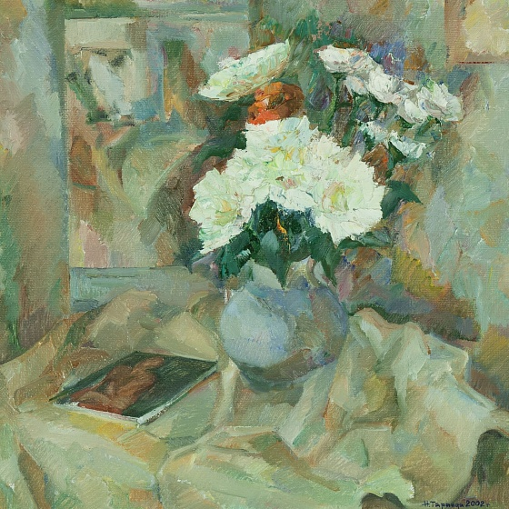Chrysanthemums for Modigliani