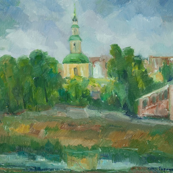A Temple by the Dnieper