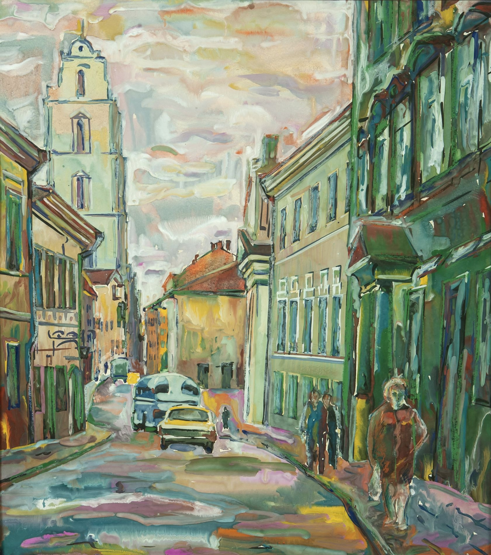 From the series The Old Town of Vilnius