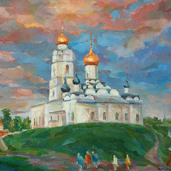 Trinity Cathedral, from the series Vyazma