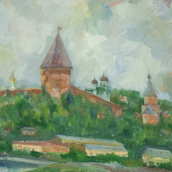 Before the Thunderstorm, from the series Smolensk