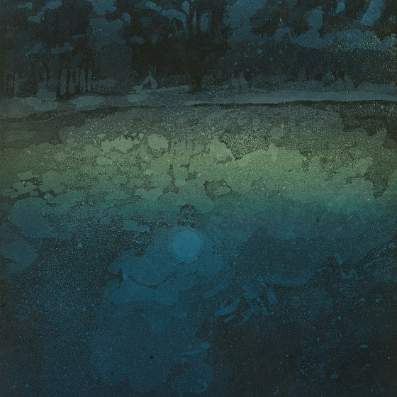 Moonlit Night, from the series Lake Senezh