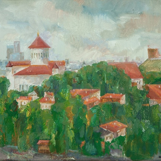 A Cloudy Day, from the series Vilnius