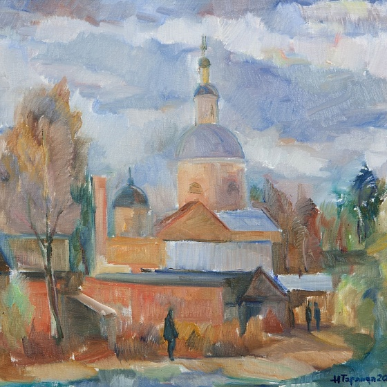 St. Peter and Paul's Church, from the series Vyazma