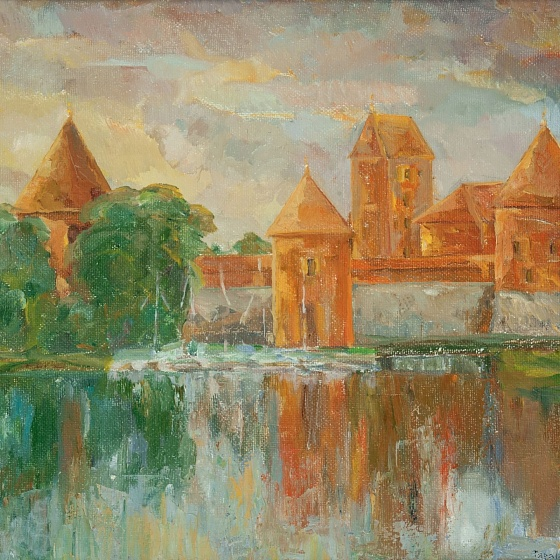 Trakai, Morning, from the series Vilnius